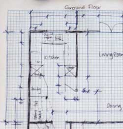 How to Site Measure Site Survey a House for Interior Design Work