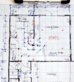 How to site measure site survey a house for interior for Design of household surveys