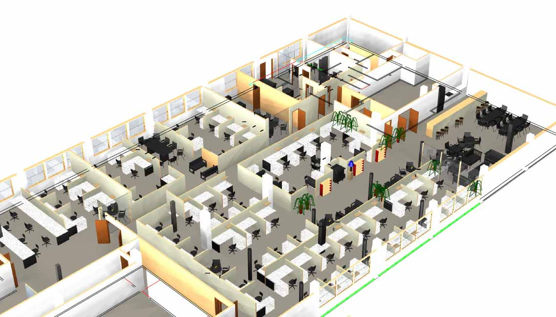 Office planning technique and how to plan instructions for Office layout plan design