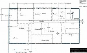 layout for planning of a commercial office